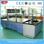 Commercial Heat Resistant Chemistry Lab Table High Strength PP Hinge