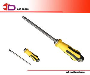 China Phillips / Slotted/ Torx Magnetic Two Head Precision Screwdriver Set With Rubber Handle on sale