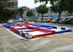 China PVC Tarpaulin Inflatable Zorb Rump Outdoor Race Track With Digital Printing wholesale