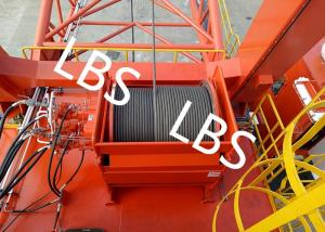 China General - Purpose Spooling Device Winch With Lebus Groove / Bridge / Overhead Crane on sale