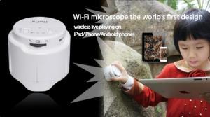 China KoPa 5MP 50X WiFi Microscope Portable Digital Microscope For Skin Care on sale