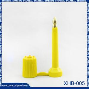 China Fechamentos do parafuso do recipiente do selo da alta segurança XHB-005 on sale