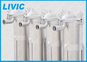 China Heavy Duty Multi Bag Filter Housing For Chemical Processing Filtration on sale