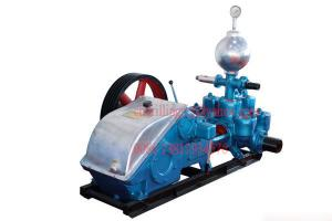 China Deep Hole Drilling Mud Pump , Hydraulic Plunger Triplex Heavy Duty Slurry Pump on sale