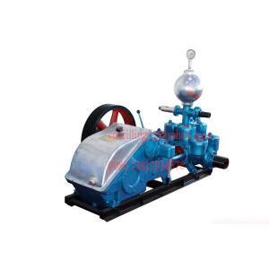 China Deep Hole Drilling Mud Pump , Hydraulic Plunger Triplex Heavy Duty Slurry Pump on sale