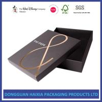 Foil Stamping Christmas Gift Boxes With Lids Recyclable Paper Set Up Boxes