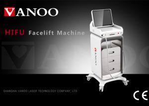 China Wrinkle Removal Hifu Skin Tightening Machine , Hifu Beauty Machine 25mm Length on sale