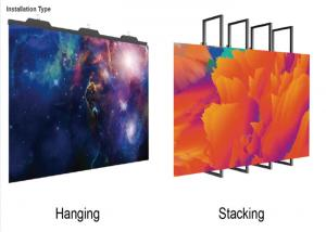 China P3.91 Led Backdrop Screen Rental Easy To Transport With Good Flatness on sale