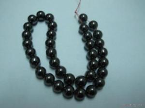 China Hf-r1912 Hematite Round Beads on sale
