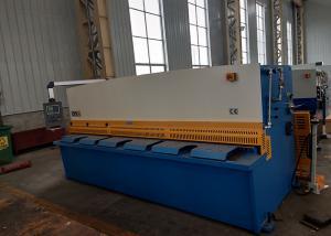China High Precision 25X2500 CNC Hydraulic Shearing Machine / Iron Sheet Cutter on sale