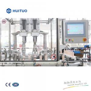 China Hand Sanitizing Gel Filling Capping And Labeling Machine on sale