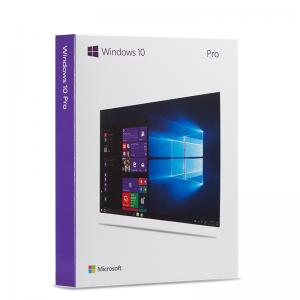 China Windows 10 Professional Retail Box Licence Key Code Windows 10 Professional Pack 32 Bit / 64 Bit on sale