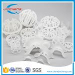 Low Pressure Drop Plastic Random Packing For Chemical / Petrochemical Industry