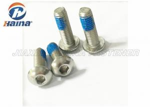 China Stainless Steel Hexagon Socket Button Head Screws / Cross Recessed Pan Head Screws With Collar on sale