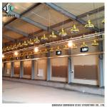 Commercial Steel Frame Broiler Poultry Farm Shed Prefabricated Chicken House Designs For Sale