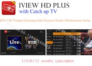 free test 3 days iview HD Plus APK watch UK,DE,Italia,France