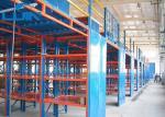 Os assoalhos de mezanino do shelving iluminam a cremalheira industrial 450LBS/200kg do armazenamento do dever pela prateleira