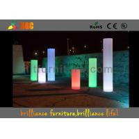 LED luminous decorative round / LED Pillar With lithium battery