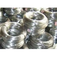 China Low Carbon Hot Dipped Galvanized Steel Wire Rod For Armouring Cable on sale