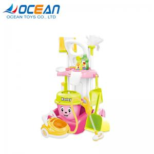 China Hot sale kids cleaning set house keeping toy cleaner with vacuum on sale