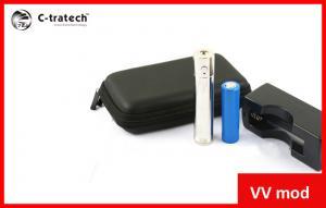 China 3V - 6V Lady VV Electronic Cigarette Lavatube 1800mah Battery on sale