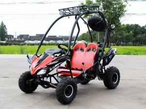 China Air cool Fully Auto with reverse CVT(F+N+R),125cc go kart buggy with disc brake on sale