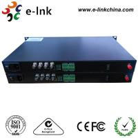 China 100M Ethernet Sdi Audio To Optical Fiber Converter 4Ch Forward 3G SDI Backward on sale
