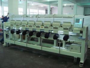China Portable Tubular / T - Shirt Embroidery Machine Low Noise And Less Vibration on sale