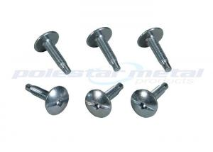 China Carbon Steel Thin Cheese Head Phillips Square D Electrical Panel Cover Screws on sale