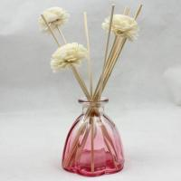 China Eco Friendly Beautiful Glass Reed Diffuser Bottles Oil Diffuser Bottle on sale