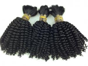 China Super Soft 100% Human Hair Afro Kinky BULK. Bundles of Hair in bulk for Africa on sale