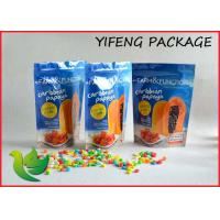 Stand Up Foil Food Packaging Bags With Resealable Ziplock 600g 1kg