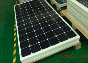 China ISO Plant High Efficiency Solar Panels 100W High Transmission Low Iron Tempered Glass on sale
