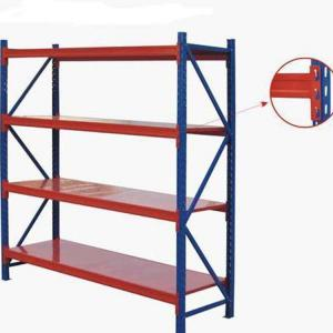 China Warehouse Steel Storage Shelves Metal Racks Medium Duty Racking on sale