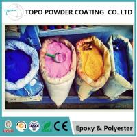 Ceiling Panels Epoxy Polyester Powder Coating RAL 1022 Traffic Yellow Color