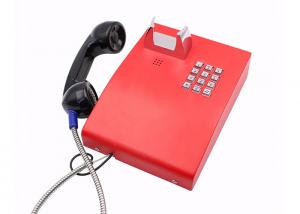 China Analogue Jail Telephone IP65 Weatherproof Color Optional With Metal Enclosure on sale