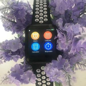 China wholesale Smart Watch 42mm MTK2502C IWO 3  Heart Rate Monitor Bluetooth Notifier Watch W53 for IOS Android phone(Black ) on sale