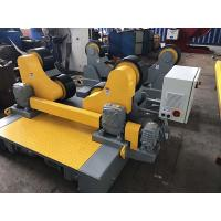 China Self - Aligning Pressure Vessel Pipe Welding Rollers With Motorized Travel on sale