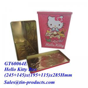 China Le seau en ligne de bidon de blanc de vente en gros d'achat de Chine, étain vide de nourriture enferme dans une boîte des grossistes|Goldentinbox.com on sale