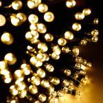 Solar String Light 12M 100leds/22M 200leds string garden Christmas Party Fairy Lamp wedding light