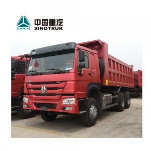 China Sinotruk HOWO 6X4 Heavy Dump Truck , 10 Wheel Dump Truck 336 HP on sale