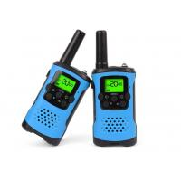 Durable Dual Band Kids Walkie Talkie Blue Color With Noise Cancelling Function