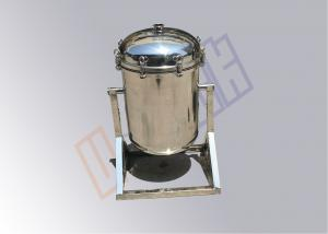 China Swing Style Stainless Steel Cartridge Filter Housing Solid Liquid Separation on sale