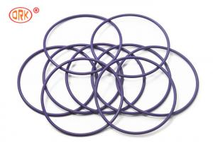 China Customized  Purple High Temperature Silicone O Rings  For Auto Parts on sale