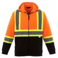 China Hi Vis Fleece Reflective Safety Hoody Jacket on sale