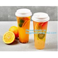 Factory direct sale biodegradable CPLA plastic coffee paper cup lids 60 70 80 90 115mm,90 CPLA dome paper cup plastic li