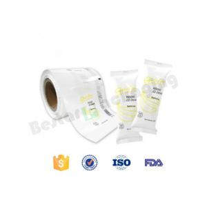 China White flexible printing ice cream popsicle packaging roll film with bestar packaging machine on sale