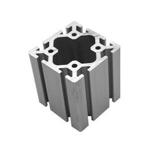 80*80 Aluminum Extrusion Profiles , Extruded Aluminum Framing 6063