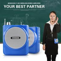 2.4G Digital Voice Amplifier with Recorder FM Radio MP3 Playing,Wired Microphone Headset Waistband and Belt