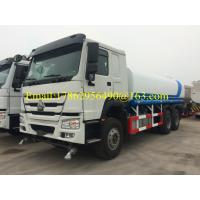 16-20m3 Water / Fuel Road Tankers , Fuel Bowser Truck With 12.00R20 Radial Tire